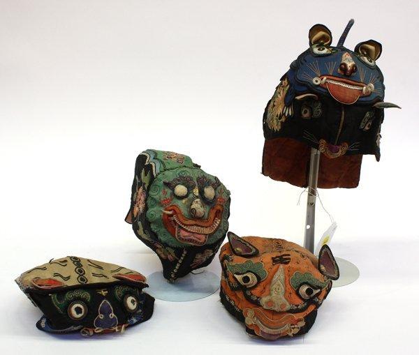 4017: Chinese Children's Animal Hats