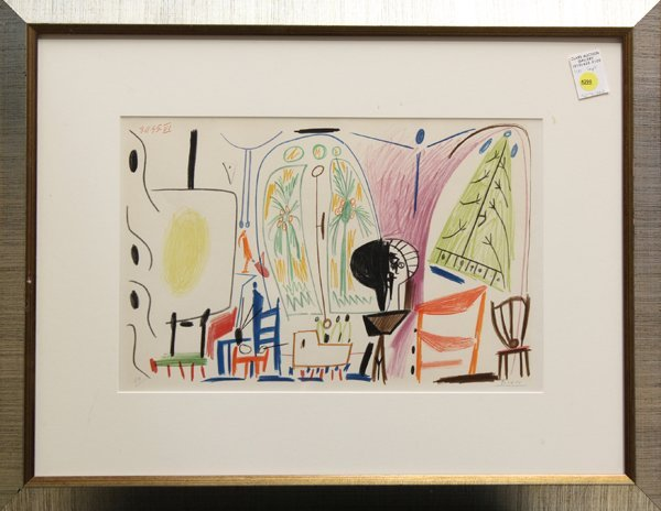 4290: Lithograph, after Pablo Picasso