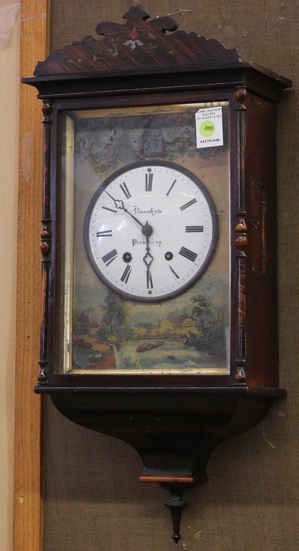 2000: English wall clock