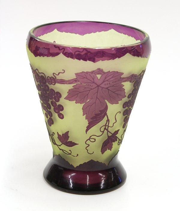 2012: Cameo Glass vase