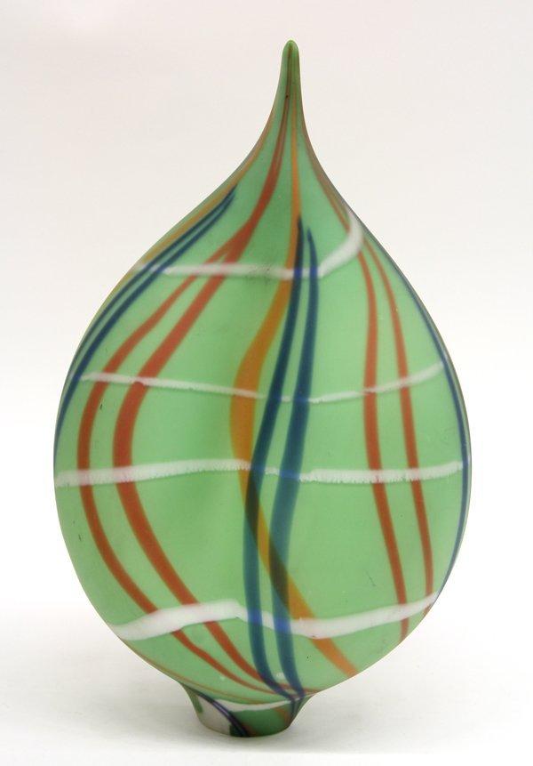 2014: Art Glass sculpture