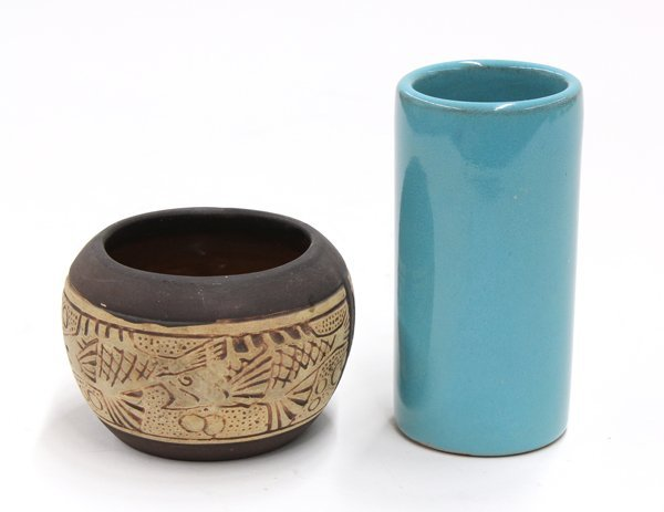 2023: American art pottery group