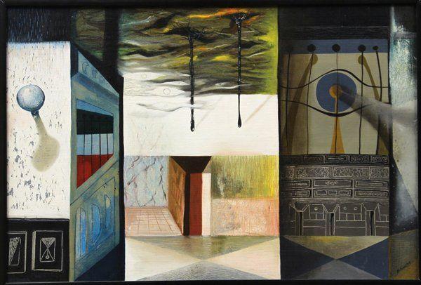 2182: Painting, Dorr Bothwell, Panama