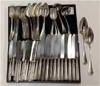 2439 Christofle silver plate flatware