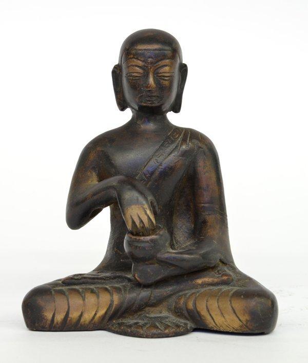 2: Himalayan Bronze Buddhist Figure