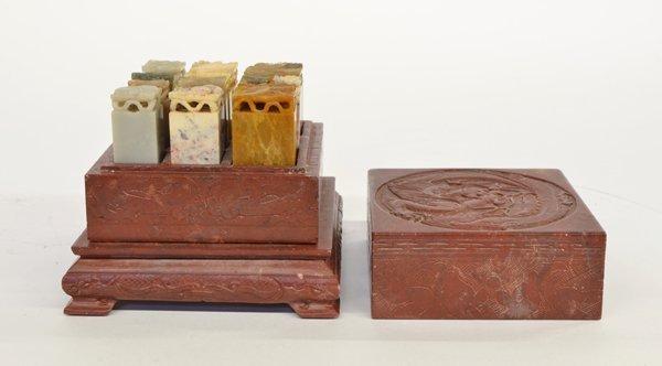 5: Chinese Soapstone Seal Set
