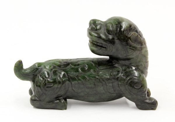 17: Chinese Jade Carving of a Mythical Beast