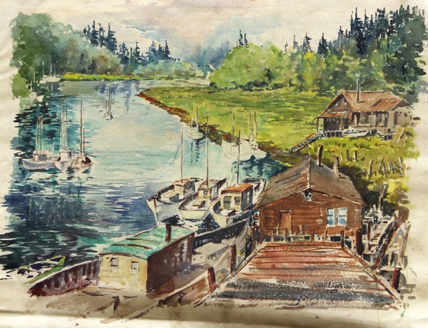 438: Watercolors, John Lambson