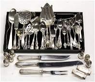 6498: American sterling silver flatware