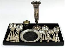 6500: Gorham sterling silver flatware