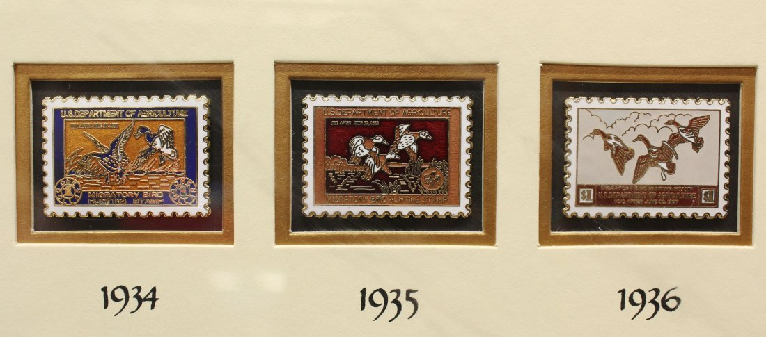 6502: Ducks Unlimited Waterfowl pin collection - 3