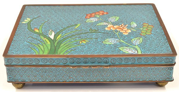 4022: Chinese Cloisonne Box