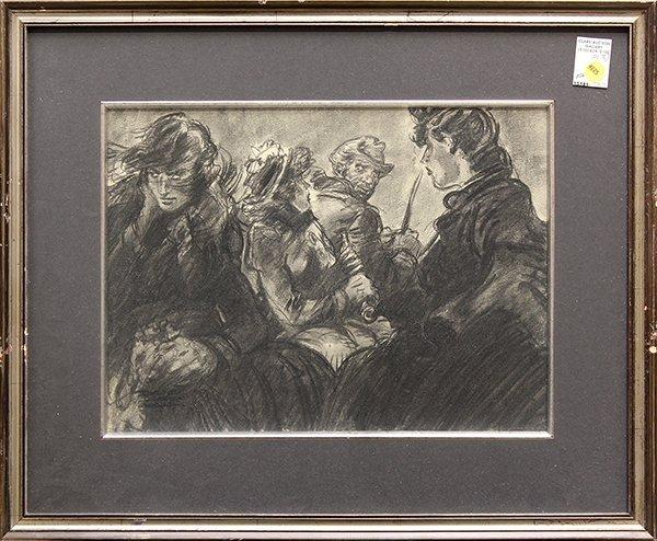 4225: Charcoal, David Hall, Disney