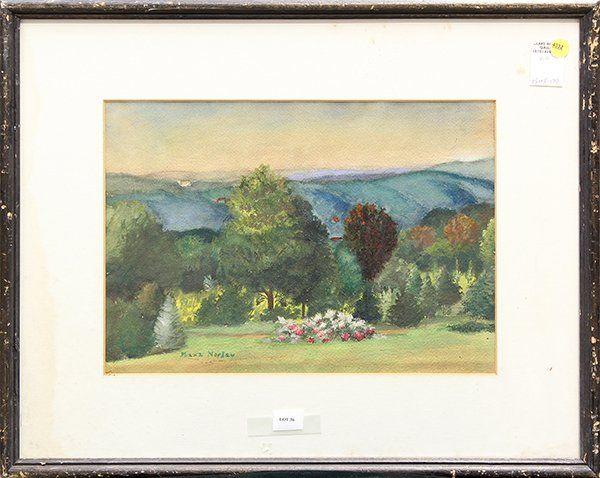 4332: Watercolor, Spring Landscape