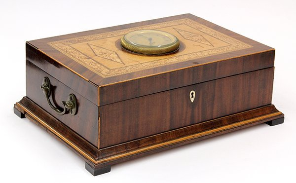 2004: Continental musical sewing box
