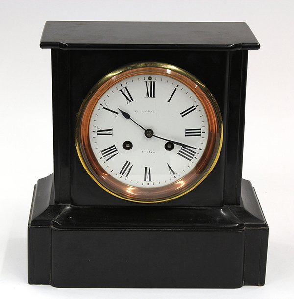 2011: French mantle clock