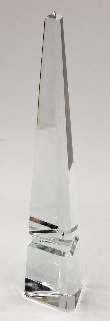 2014: Baccarat crystal obelisk