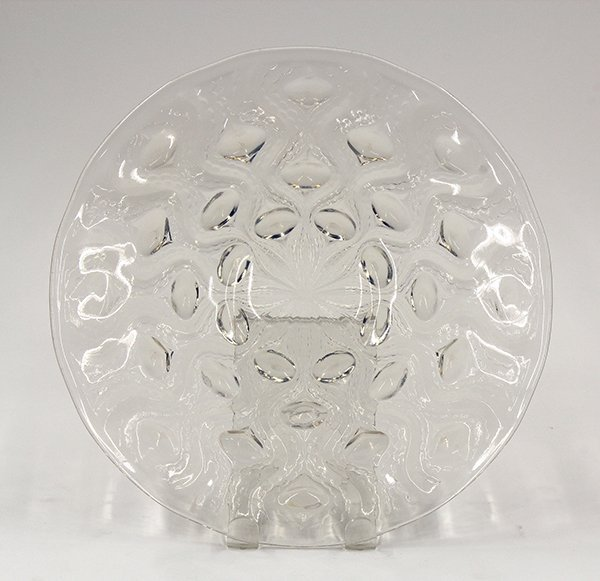 2015: Rene Lalique opalescent glass plate