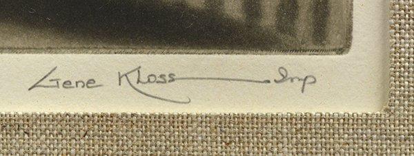 2241: Etching, Gene Kloss, Taos in Winter - 3