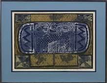2257: Silkscreen, Dorr Bothwell, The Lion