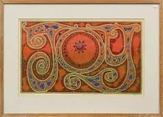 2258 Silkscreen Dorr Bothwell Abstract