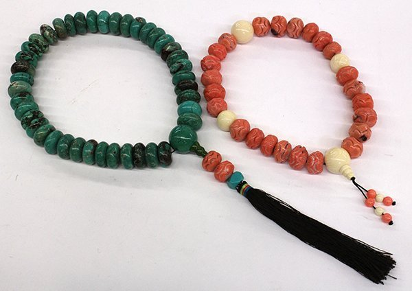10: Two Strand of Chinese Prayer Beads