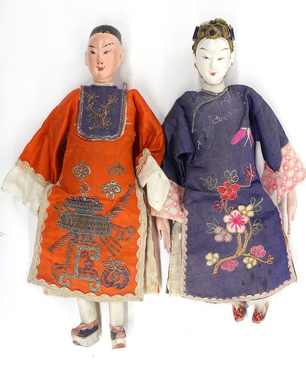 21: Two Chinese Dolls