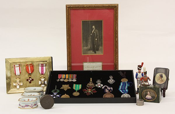 530: Late 19th/early 20th century medals and commemorat