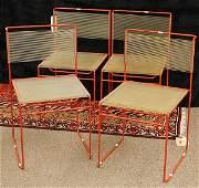 6307: Belotti style 'Spaghetti' chairs
