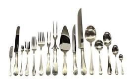6397 Tiffany  Company Flemish sterling silver flatw