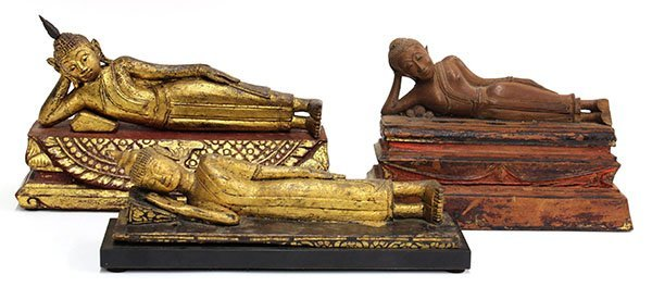 4000: Three Thai Wooden Buddha, Parinirvana
