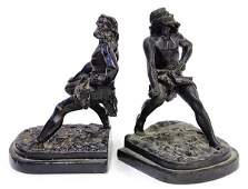4478 Classical style bronze clad over plaster figural
