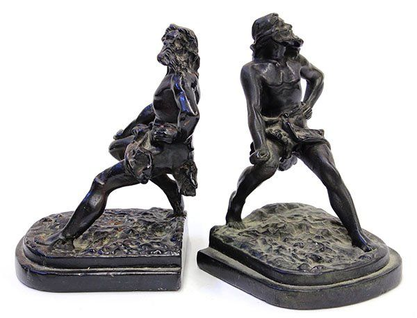 4478: Classical style bronze clad over plaster figural
