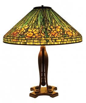 Tiffany Studios Daffodil table lamp