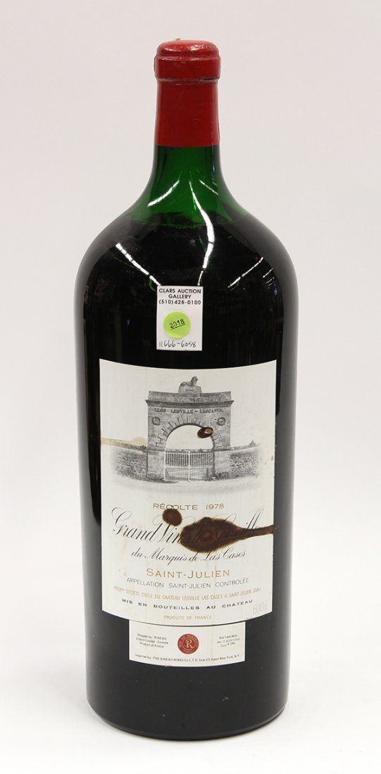1978 Chateau Leoville-Las-Cases