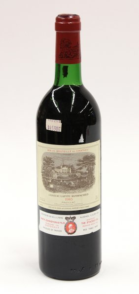 1983 Domaines Barons de Rothschild Chateau Lafite Roths