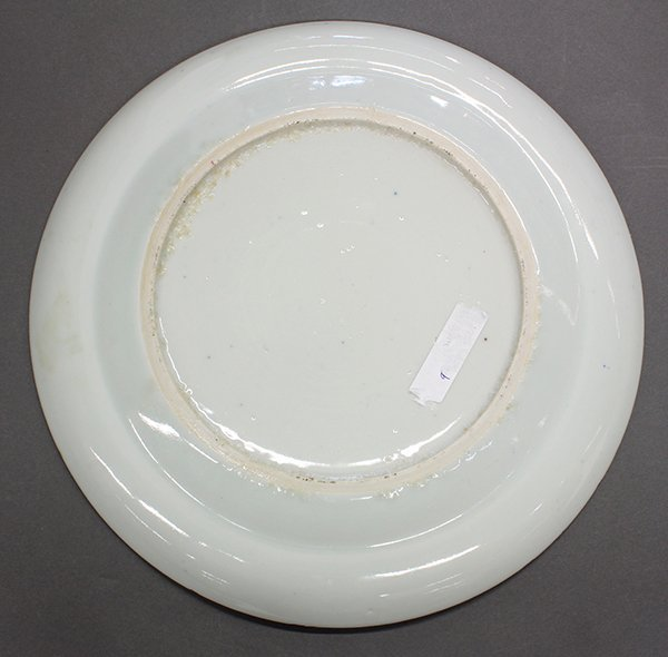 Two Chinese Blue-and-White Export Plates - 3