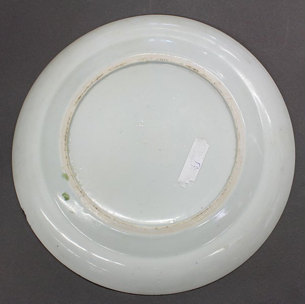 Two Chinese Blue-and-White Export Plates - 6