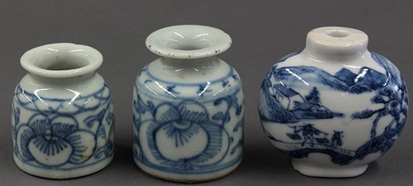 Three Chinese Porcelains: