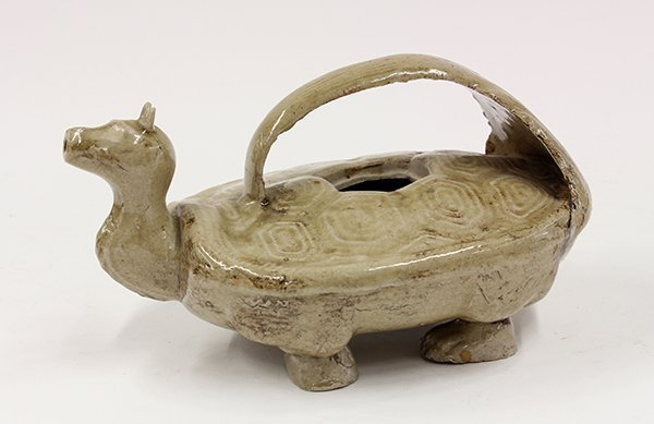 Asian Tortoise Form Water Vessel