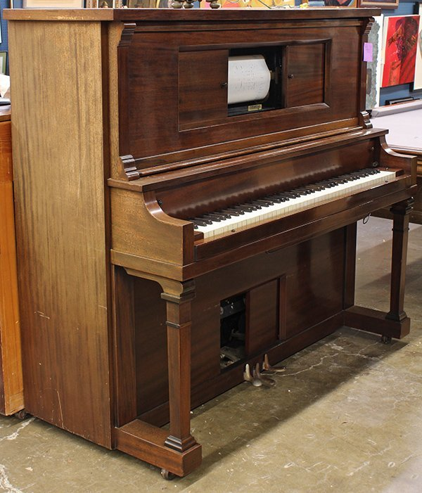 Wurlitzer upright player piano