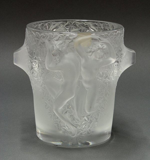 Lalique Ganymede champagne cooler
