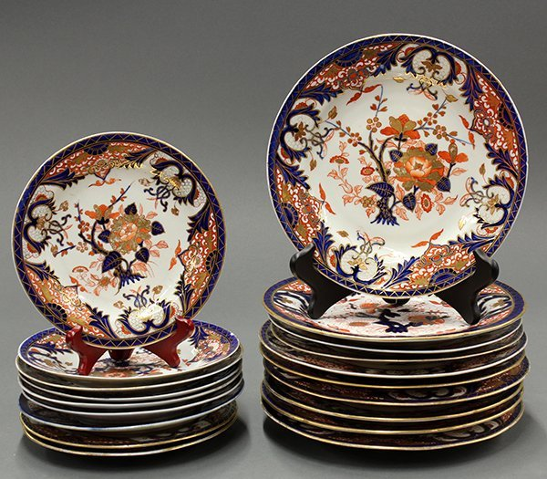 Royal Crown Derby Kings pattern china