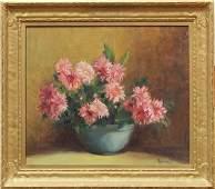 Leonide M. Capocelli, The Blue Vase, oil on canvas