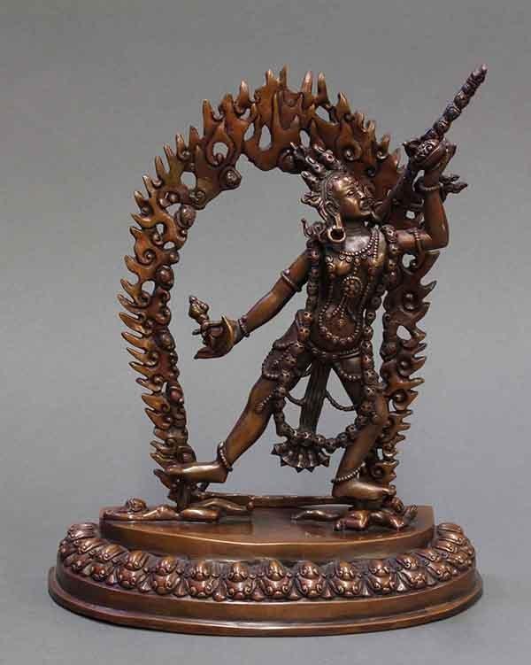 Himalayan Sculpture of Dakini