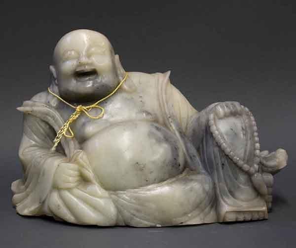 Chinese Soapstone Figure of Budai