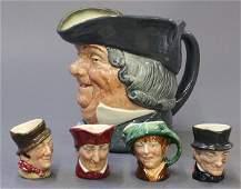 Royal Doulton character jugs