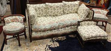 Continental style parlor suite
