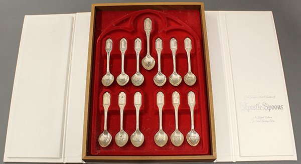 The Franklin Mint Collection of Apostle Spoons