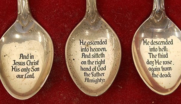 The Franklin Mint Collection of Apostle Spoons - 2